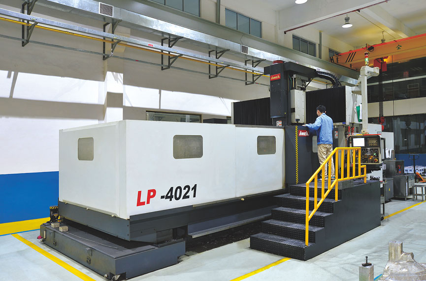 Large gantry CNC five-sided machining center